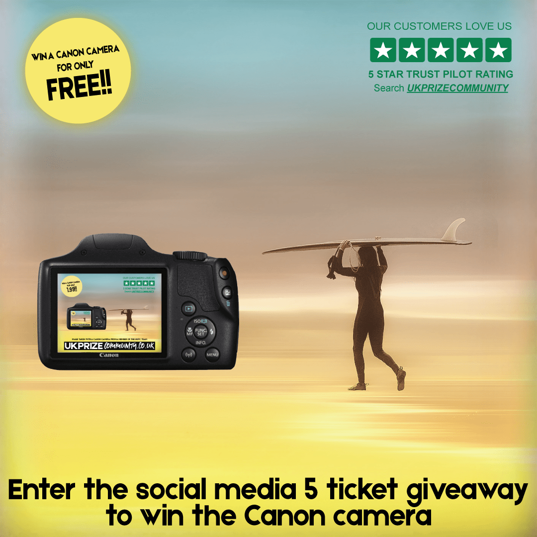 Social Media Giveaway Competition